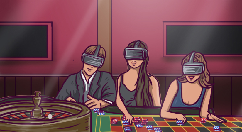 Virtual Reality casino games